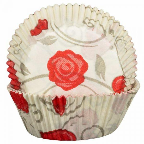 Love Roses Cupcake Cases