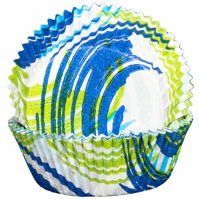 Andorra Blue Cupcake Cases