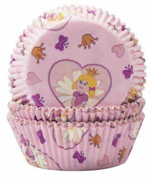 Pink Princess Butterflies Cupcake Cases