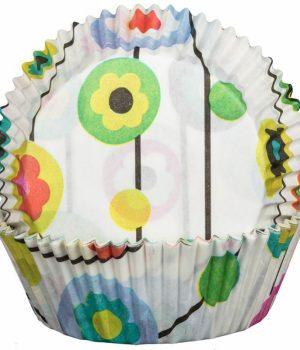 Flower Power Cupcake Cases
