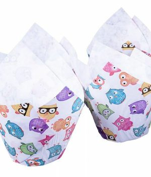 Owls Muffin Tulip Wraps